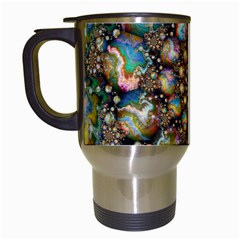 Marbled Spheres Spiral Travel Mugs (white) by WolfepawFractals