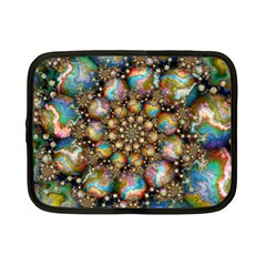 Marbled Spheres Spiral Netbook Case (small)