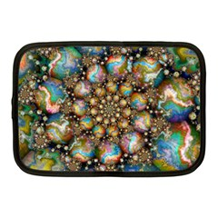 Marbled Spheres Spiral Netbook Case (medium)