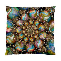 Marbled Spheres Spiral Standard Cushion Case (two Sides)