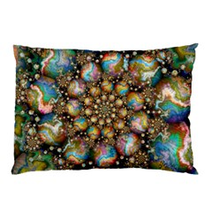 Marbled Spheres Spiral Pillow Case