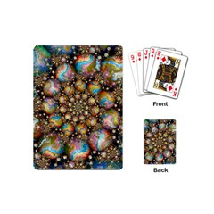 Marbled Spheres Spiral Playing Cards (mini)  by WolfepawFractals