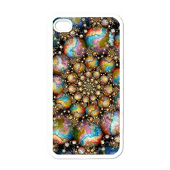 Marbled Spheres Spiral Apple Iphone 4 Case (white)