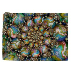 Marbled Spheres Spiral Cosmetic Bag (xxl)