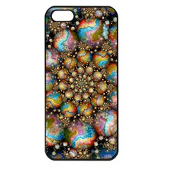 Marbled Spheres Spiral Apple Iphone 5 Seamless Case (black)