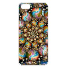 Marbled Spheres Spiral Apple Iphone 5 Seamless Case (white)