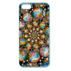 Marbled Spheres Spiral Apple Seamless Iphone 5 Case (color) by WolfepawFractals
