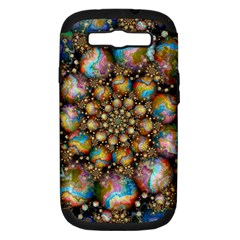 Marbled Spheres Spiral Samsung Galaxy S Iii Hardshell Case (pc+silicone)