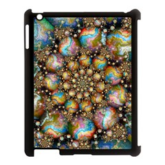 Marbled Spheres Spiral Apple Ipad 3/4 Case (black)