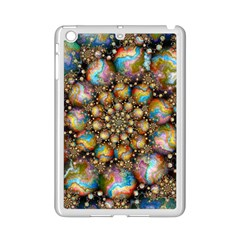 Marbled Spheres Spiral Ipad Mini 2 Enamel Coated Cases by WolfepawFractals