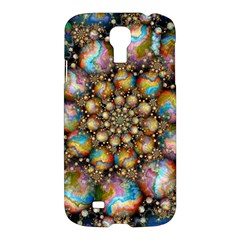 Marbled Spheres Spiral Samsung Galaxy S4 I9500/i9505 Hardshell Case