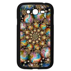 Marbled Spheres Spiral Samsung Galaxy Grand Duos I9082 Case (black)