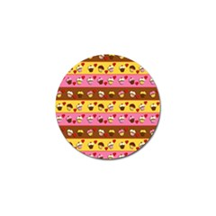 Cupcakes Pattern Golf Ball Marker (10 Pack) by Valentinaart