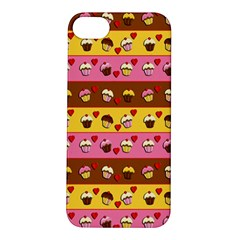 Cupcakes Pattern Apple Iphone 5s/ Se Hardshell Case by Valentinaart