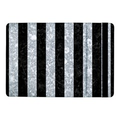 Stripes1 Black Marble & Gray Marble Samsung Galaxy Tab Pro 10 1  Flip Case