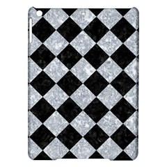 Square2 Black Marble & Gray Marble Apple Ipad Air Hardshell Case by trendistuff