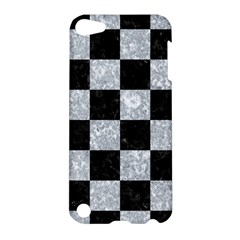 Square1 Black Marble & Gray Marble Apple Ipod Touch 5 Hardshell Case by trendistuff