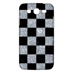 Square1 Black Marble & Gray Marble Samsung Galaxy Mega 5 8 I9152 Hardshell Case  by trendistuff