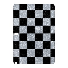 Square1 Black Marble & Gray Marble Samsung Galaxy Tab Pro 10 1 Hardshell Case by trendistuff