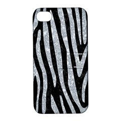 Skin4 Black Marble & Gray Marble (r) Apple Iphone 4/4s Hardshell Case With Stand by trendistuff