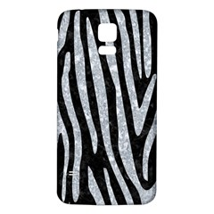 Skin4 Black Marble & Gray Marble (r) Samsung Galaxy S5 Back Case (white) by trendistuff