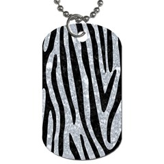 Skin4 Black Marble & Gray Marble Dog Tag (two Sides) by trendistuff