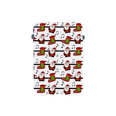Xmas Song Pattern Apple Ipad Mini Protective Soft Cases by Valentinaart