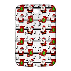 Xmas Song Pattern Samsung Galaxy Note 8 0 N5100 Hardshell Case  by Valentinaart