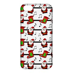 Xmas Song Pattern Apple Iphone 5c Hardshell Case by Valentinaart