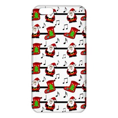 Xmas Song Pattern Iphone 6 Plus/6s Plus Tpu Case by Valentinaart