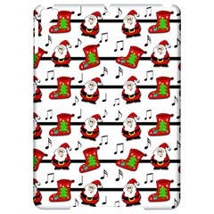 Xmas Song Pattern Apple Ipad Pro 9 7   Hardshell Case by Valentinaart