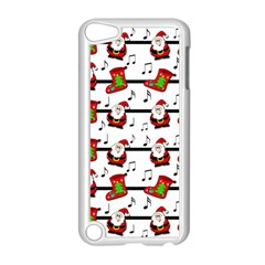 Xmas Song Pattern Apple Ipod Touch 5 Case (white) by Valentinaart
