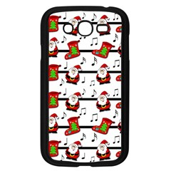 Xmas Song Pattern Samsung Galaxy Grand Duos I9082 Case (black) by Valentinaart
