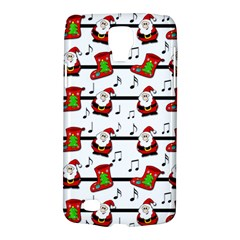 Xmas Song Pattern Galaxy S4 Active by Valentinaart