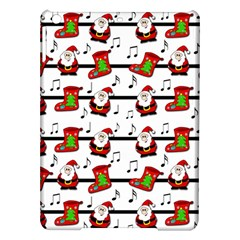 Xmas Song Pattern Ipad Air Hardshell Cases by Valentinaart