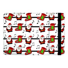 Xmas Song Pattern Samsung Galaxy Tab Pro 10 1  Flip Case by Valentinaart