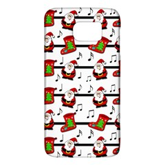 Xmas Song Pattern Galaxy S6 by Valentinaart