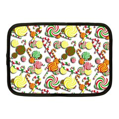 Xmas Candy Pattern Netbook Case (medium)  by Valentinaart