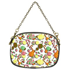 Xmas Candy Pattern Chain Purses (two Sides)  by Valentinaart