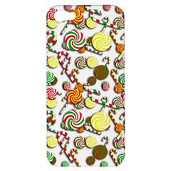 Xmas Candy Pattern Apple Iphone 5 Hardshell Case by Valentinaart