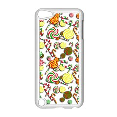 Xmas Candy Pattern Apple Ipod Touch 5 Case (white) by Valentinaart