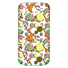 Xmas Candy Pattern Samsung Galaxy S3 S Iii Classic Hardshell Back Case