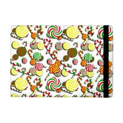 Xmas Candy Pattern Ipad Mini 2 Flip Cases by Valentinaart