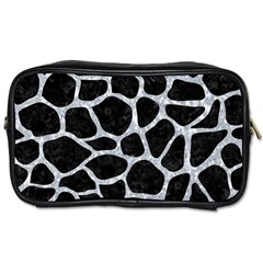 Skin1 Black Marble & Gray Marble (r) Toiletries Bag (two Sides)