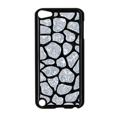 Skin1 Black Marble & Gray Marble Apple Ipod Touch 5 Case (black) by trendistuff