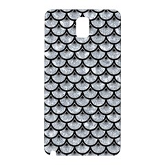 Scales3 Black Marble & Gray Marble (r) Samsung Galaxy Note 3 N9005 Hardshell Back Case by trendistuff