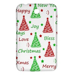 New Year Pattern Samsung Galaxy Tab 3 (7 ) P3200 Hardshell Case  by Valentinaart