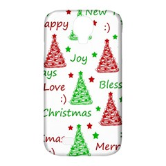 New Year Pattern Samsung Galaxy S4 Classic Hardshell Case (pc+silicone) by Valentinaart
