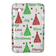 New Year Pattern Samsung Galaxy Tab 2 (7 ) P3100 Hardshell Case  by Valentinaart
