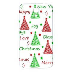 New Year Pattern Samsung Galaxy Mega I9200 Hardshell Back Case by Valentinaart